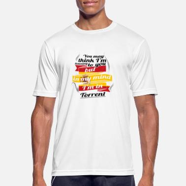 Torrent FERIE Spanien espanol TRAVEL IND IND Spanien Torrent - Herre T-shirt svedtransporterende