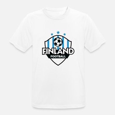Football Finland Finland Football Emblem - Men's Breathable T-Shirt