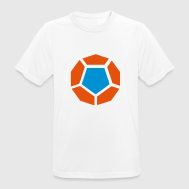 Dodecahedron / Dodecahedron - Platonic body - Men's Breathable T-Shirt