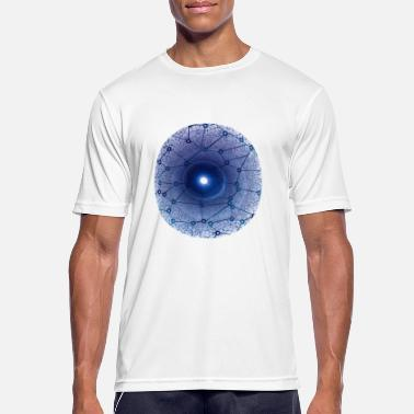 Social Networking Social network eye - Men's Breathable T-Shirt