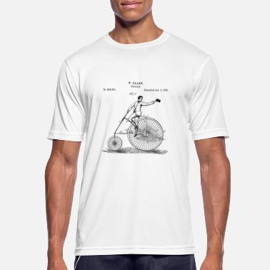 Bicycles Vintage Bicycle Old School Minimalist Gift - Men's Sport T-Shirt