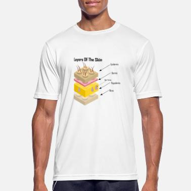Skins Layers of The Skin - Layers of the Skin - Men's Sport T-Shirt