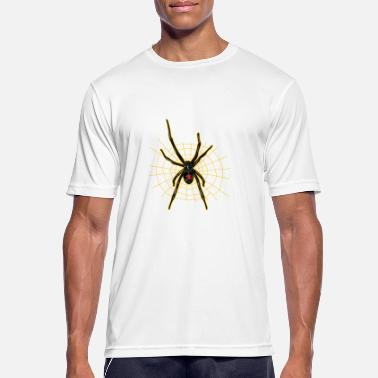 Spider Black widow - spider - Men's Sport T-Shirt