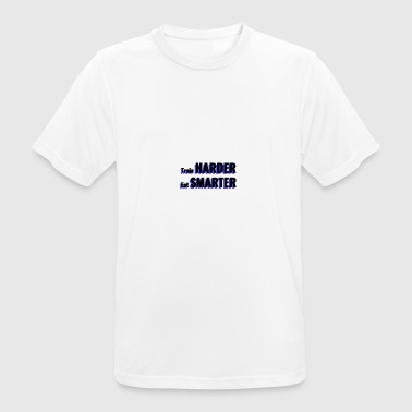 Motivational Train Harder Motivational Shirt zwart - mannen T-shirt ademend