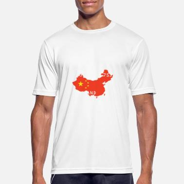 Populism World Population Day 2018 China population globe - Men's Sport T-Shirt