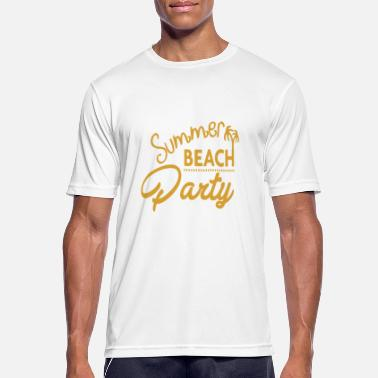 Beachparty Beach party - Men's Sport T-Shirt