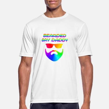 81324b546 Gay Daddy Bearded Gay Daddy LGBT CSD - Men's Sport T-