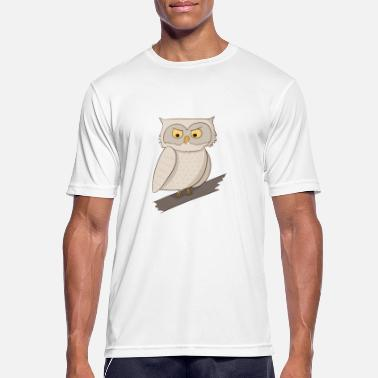 Night Owls Night owl owl night owls nature gift - Men's Breathable T-Shirt
