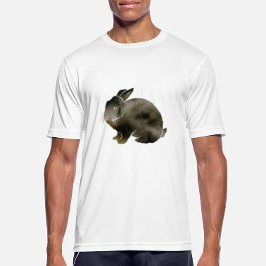 Woodland hare in the fog - Men's Sport T-Shirt