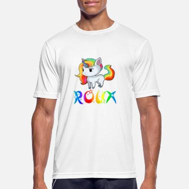 Roux Unicorn Roux - Men's Breathable T-Shirt