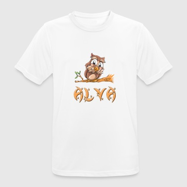 Alva Owl Alva - Men's Breathable T-Shirt