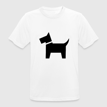 schwarzer Hund - Men's Breathable T-Shirt