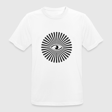 all seeing eye design - Men's Breathable T-Shirt