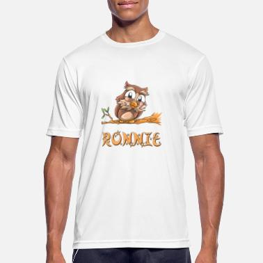 Ronnie búho Ronnie - Camiseta hombre transpirable