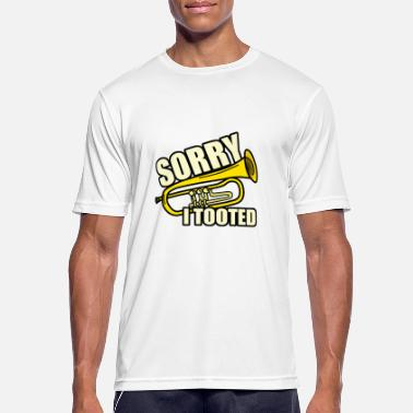 Sorry Liefde Sorry ik tooted - mannen T-shirt ademend
