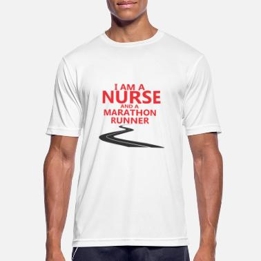Operation Nurse nattskift operation Marathon - Andningsaktiv T-shirt herr