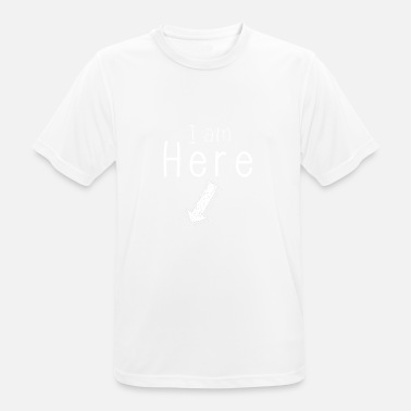 Off Kilter I am Here! - Men's Breathable T-Shirt