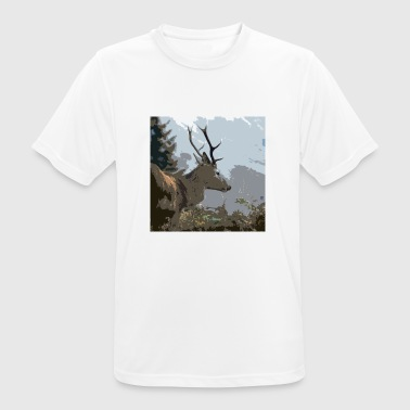 Stag - Men's Breathable T-Shirt