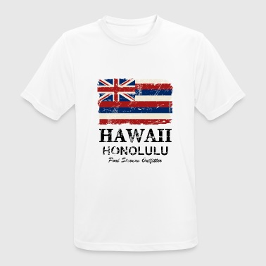 Hawaii Flag - Honolulu - Vintage Look - Männer T-Shirt atmungsaktiv