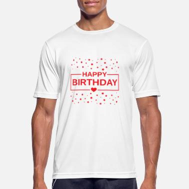 Birthday Party & birthday party - Happy Birthday - Männer T-Shirt atmungsaktiv