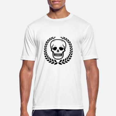 Laurel Wreath Skull Laurel Wreath Skull - Men's Breathable T-Shirt