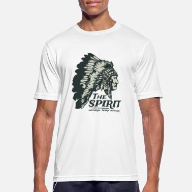 Apache The Spirit Natural Hunter Apache Chief Shirt - Mannen sport T-shirt