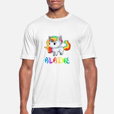 Alain Unicorn Alaine - Men's Breathable T-Shirt