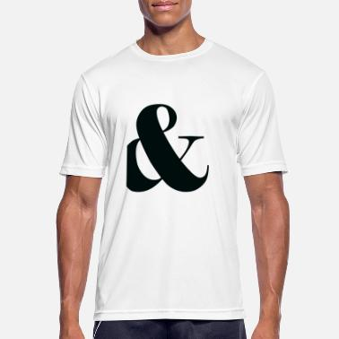 Punctuation Marks and, plus, punctuation, - Men's Sport T-Shirt