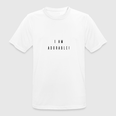 adorable - Camiseta hombre transpirable