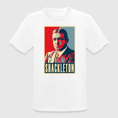 Sir Ernest Shackleton (red, white & blue colours) - Men's Breathable T-Shirt