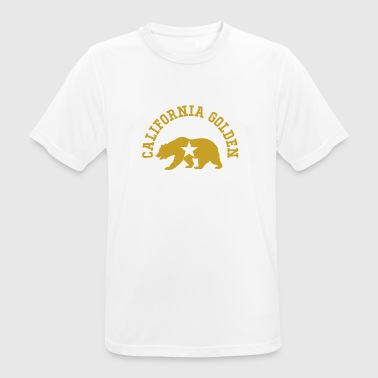 Californië Golden State Bear - mannen T-shirt ademend