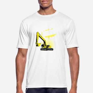 Excavator funny excavator shirt / gift for excavator driver - Men's Breathable T-Shirt