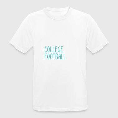 Samedi Hayons College Football - T-shirt respirant Homme
