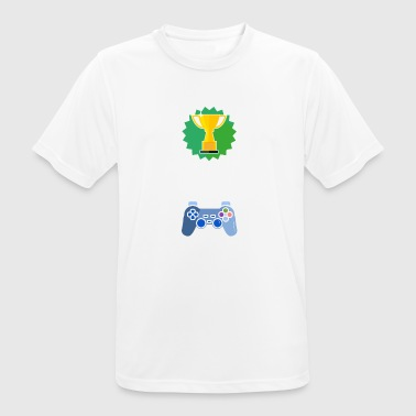 Level Unlocked Hartz Gamer Geschenk Gaming - Männer T-Shirt atmungsaktiv