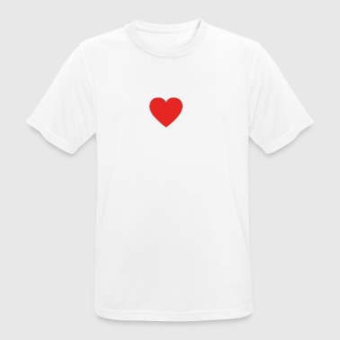 I love piano piano png - Men's Breathable T-Shirt