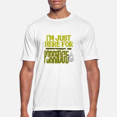 Porridge I'm just here for the porridge - Men's Sport T-Shirt