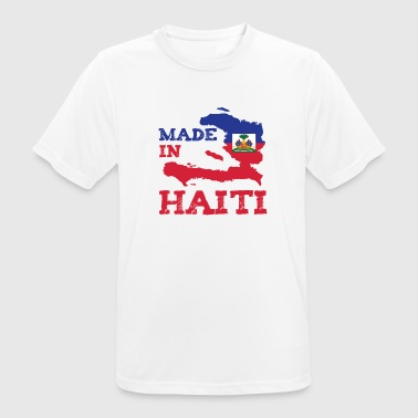 Haiti Haitian Made in Born - Men's Breathable T-Shirt