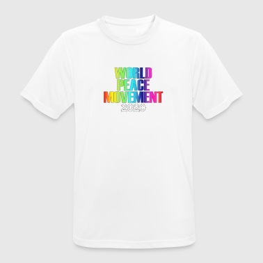 World Peace Movement World Peace - Men's Breathable T-Shirt