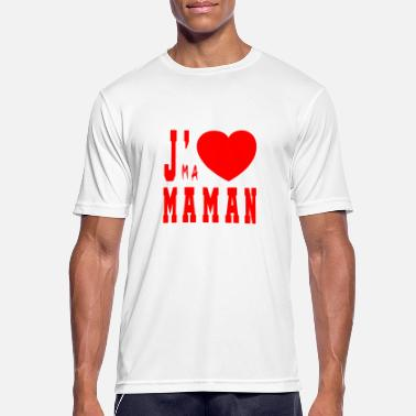 I Love My Mom I love my mom - Men's Breathable T-Shirt