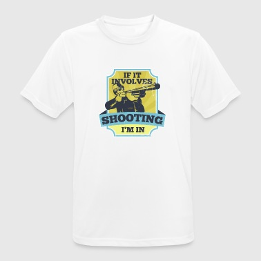 Sport shooting Shooting Sport Weapon Shooting - Men's Breathable T-Shirt