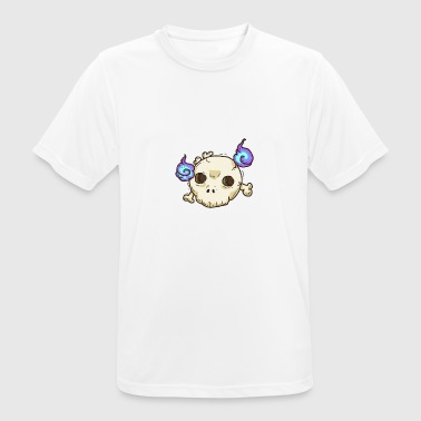 Totenkopf Kawaii Halloween Kinder Party - Männer T-Shirt atmungsaktiv