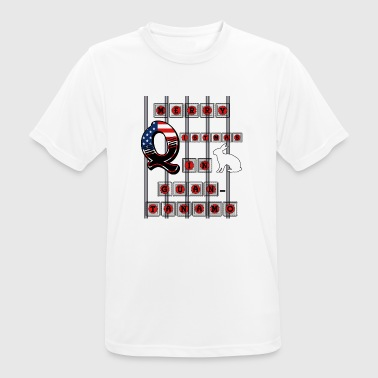 Guantanamo Merry Q istmas in Guantanamo - Men's Breathable T-Shirt