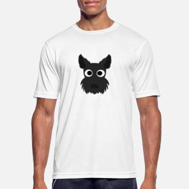 Scottish Terriers Scottie Dog - Scottish Terrier - Men's Breathable T-Shirt