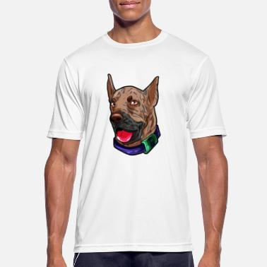 Dogue Danois Dogue Allemand Danois Ulmer Hats Dog Dogue Allemand Danois - T-shirt respirant Homme