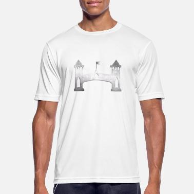 Tower Bridge tower bridge - Sports T-shirt mænd