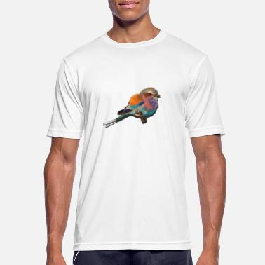 colorful bird - Men's Sport T-Shirt