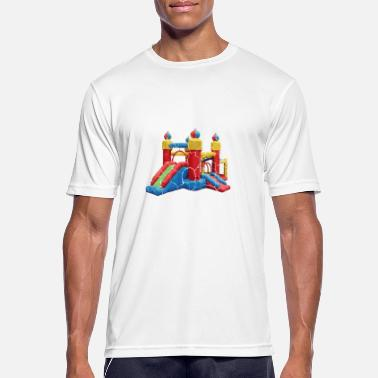 Cops Cops are good at bouncing into action Policeman or - Men's Sport T-Shirt