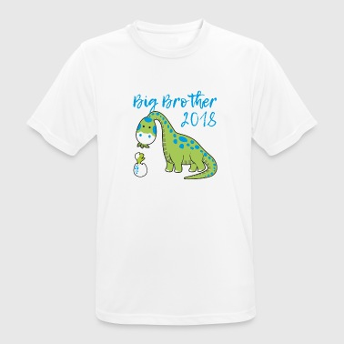 Camiseta Dino Baby Big Brother 2018 Brother - Camiseta hombre transpirable