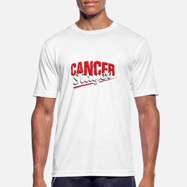 Cellgifter T-shirt Cancer Slayer - Andningsaktiv T-shirt herr