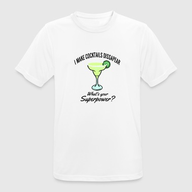 Cocktail Slogan I Make Cocktails Dissapear - Men's Breathable T-Shirt